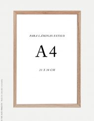marco-madera-a4