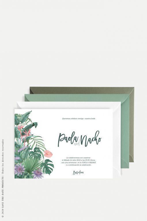 invitacion selva tropical horizontal