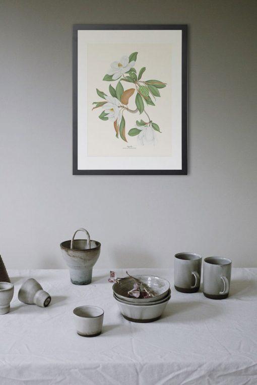 póster vintage magnolia