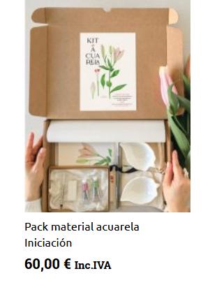 pack material acuarela pintura