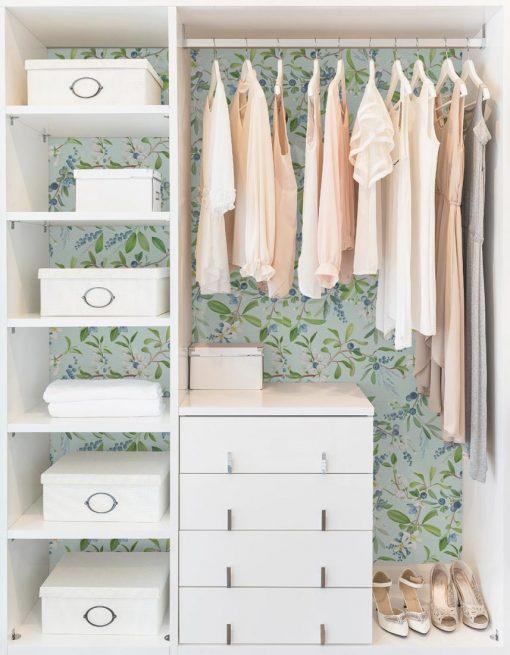 Papel pared armario