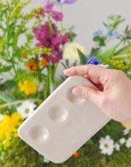 Paleta cerámica Margaret Flockton para acuarela