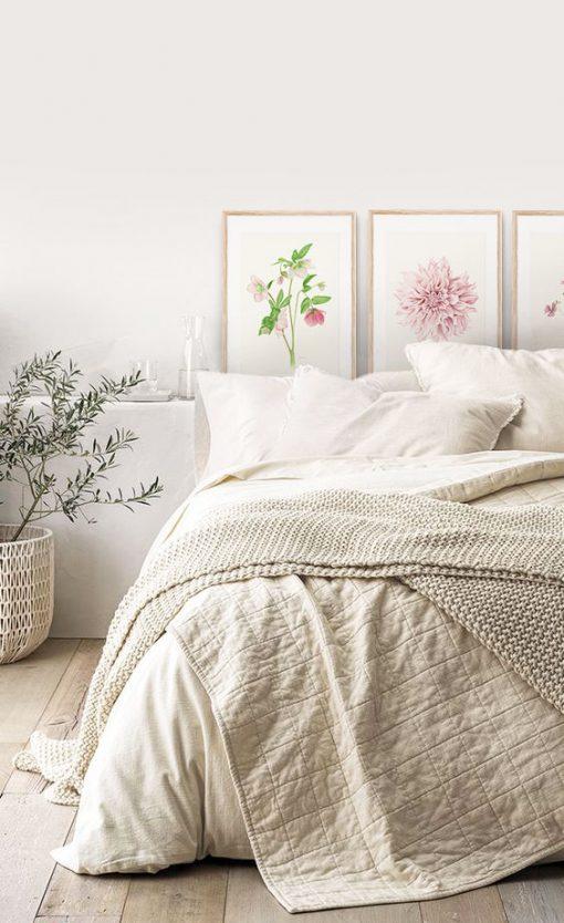 marcos para dormitorio acuarela