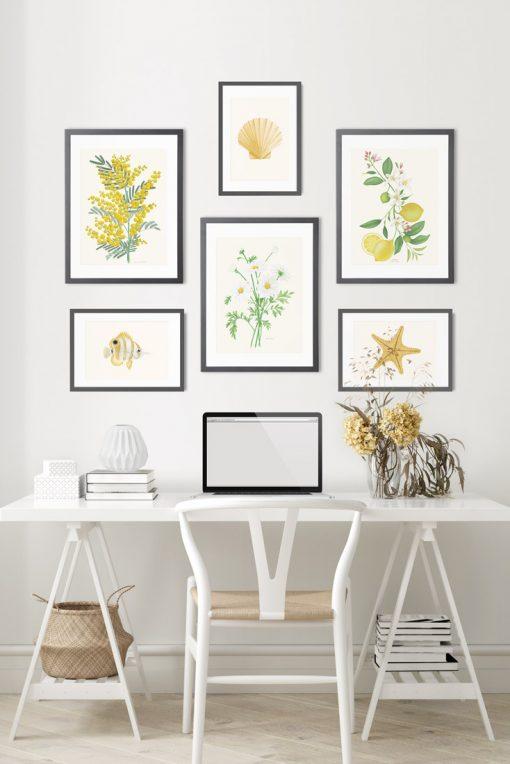 composiciones de cuadros decoración