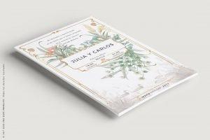 Invitacion vintage en Tienda-Online