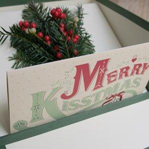 Felicitación navideña personalizado
