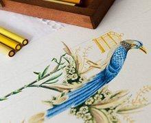 Invitaciones de boda elegantes con ilustraciones botánicas