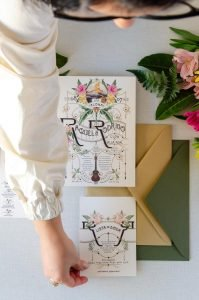 Lista de boda papeleria personalizada
