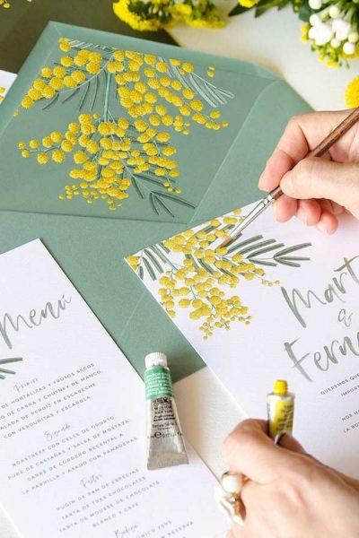 invitacion-de-boda-con-mimosa-900x900
