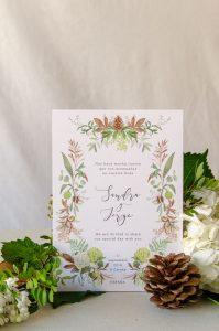 invitacion de boda otono gallega vert