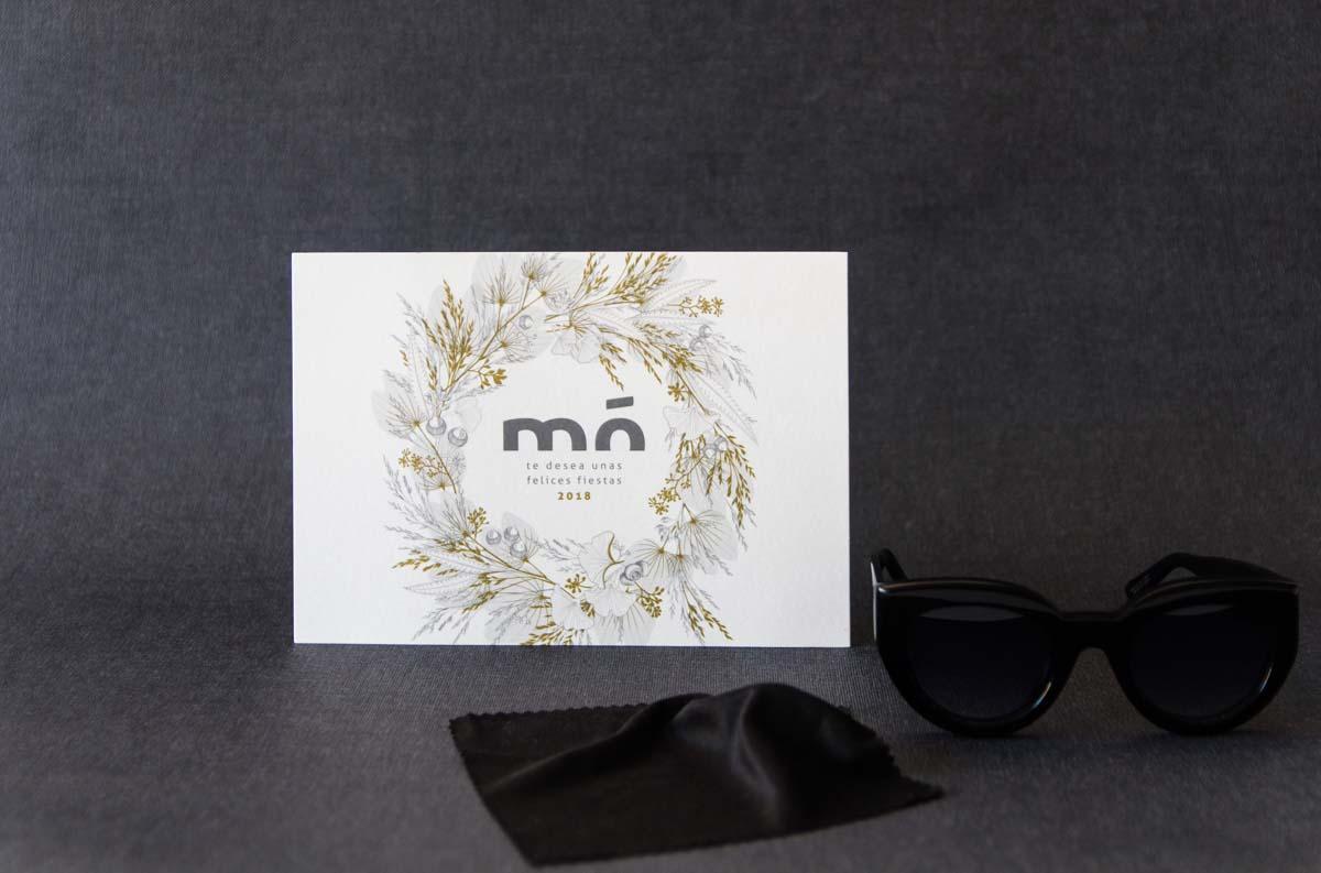 ilustracion navidad packaging multiopticas