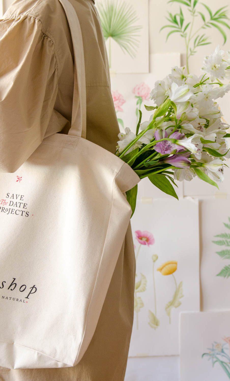 bolsa con flores